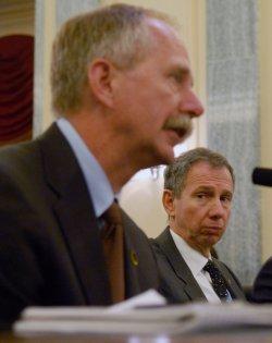 NASA Admin. Griffin testifies on Shuttle program in Washington