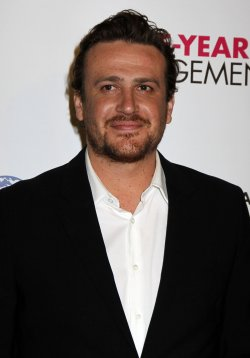 """Jason Segel arrives for the Opening Night Premiere of """"The Five-Year Engagement"""" at the Tribeca Film Festival in New York"""