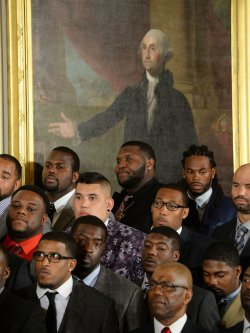 Obama Honors the Super Bowl Champs Seahawks