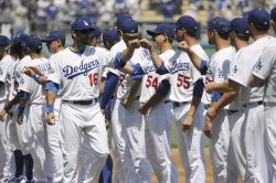 Los Angeles Dodgers celebrate the 50th Anniversary of Dodger Stadium in Los Angeles