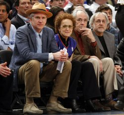 Matthew Modine and Robert Klein at Madison Square Garden