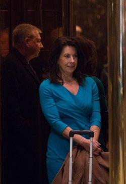 Sheri Dillon arrives at Trump Tower
