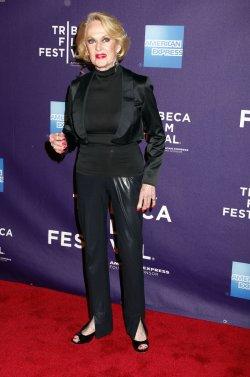 "Tippi Hedren arrives for the Tribeca Film Festival Premiere of ""Free Samples"" in New York"