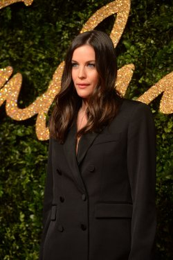 Liv Tyler attends the British Fashion Awards in London