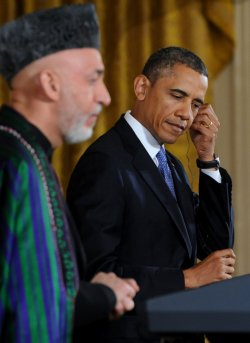 Obama and Karzai Hold Joint Press Conference