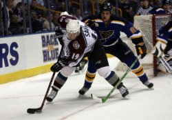 COLORADO AVALANCHE VS ST. LOUIS BLUES HOCKEY