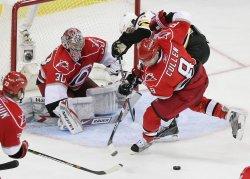 NHL Playoffs Boston Bruins vs Carolina Hurricanes in Raleigh, N.C.