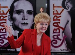 "Debbie Reynolds attends the 40th anniversary restoration premiere of ""Cabaret"" in Los Angeles"