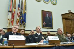 House Armed Services Committee Hearing on the Navy Budget in Washington, D.C.