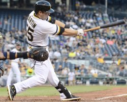 Pirates Russell Martin RBI Wins Game in Pittsburgh