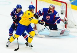 Sweden vs. Slovakia Men's Ice Hockey at 2010 Winter Olympics in Vancouver