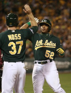 Oakland A's vs. Detroit Tigers in Game 1 of the ALDS