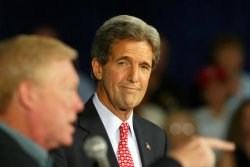 JOHN KERRY IN ST LOUIS