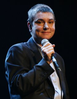 Sinead O'Connor performs in concert in Paris