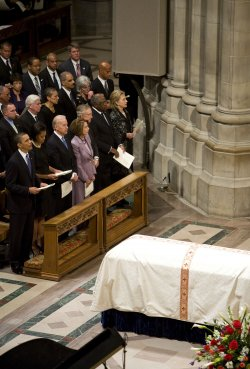 Funeral held for civil rights activist Dorothy Heights in Washington