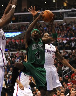 Celtic's Rajon Rondo, Clippers' Eric Bledsoe in Los Angeles