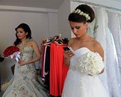 Palestinian Models At Palestine Fashion Week In Ramallah