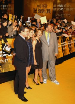 """The Brave One"" Japan premiere"