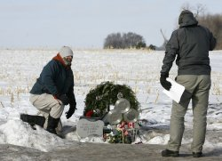 """Fans Memorialize """"the Day the Music Died"""" in Clear Lake, Iowa"""