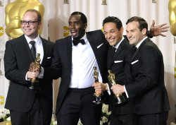 """Undeafeated"" wins Oscars for Best Documentary Feature at the 84th Academy Awards in Los Angeles"