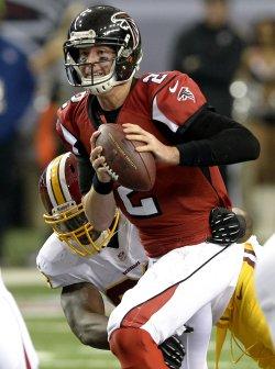 The Atlanta Falcons play the Washington Redskins