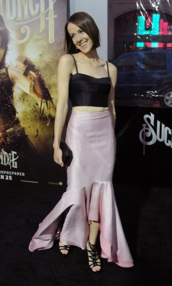 "Jena Malone attends the ""Sucker Punch"" premiere in Los Angeles"