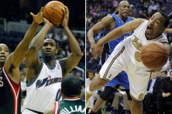 Washington Wizards' Gilbert Arenas and Javaris Crittenton under investigation for pulling guns on each other in Washington