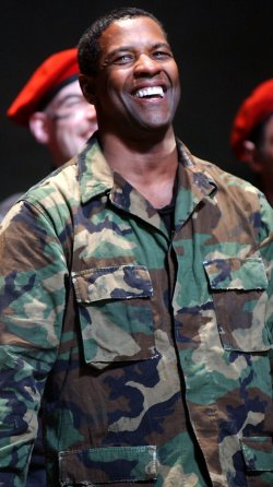 DENZEL WASHINGTON OPENS ON BROADWAY IN SHAKESPEARE PLAY JULIUS CAESAR