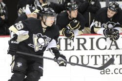 Pittsburgh Penguins Jussi Jokinen Scores on OT Penalty in Pittsburgh