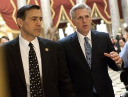Rep. Kevin McCarthy votes on Tax Relief and Job Creation Bill in Washington