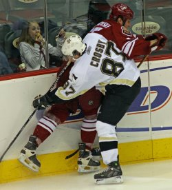 NHL PITTSBURGH PENGUINS AT PHOENIX COYOTES