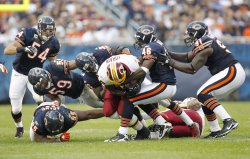 Bears tackle Redskins Torain in Chicago