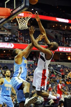 Washington Wizards vs Denver Nuggets in Washington