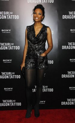 "Aisha Tyler arrives for ""The Girl With The Dragon Tattoo"" Premiere in New York"