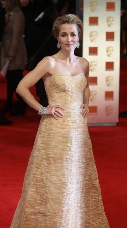 Gillian Anderson arrives at Bafta Awards