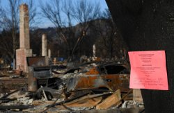 Residents search ruins of Wine Country Fires