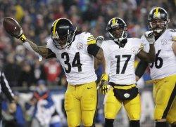 Steelers DeAngelo Williams scores on a 5 yard touchdown
