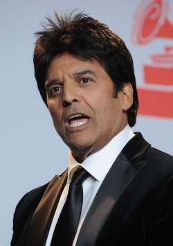 Erik Estrada appears backstage at the 12th annual Latin Grammy Awards in Las Vegas, Nevada