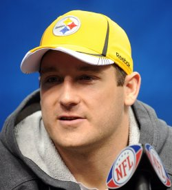 Pittsburgh Steelers participate in Media Day for Super Bowl XLV in Arlington, Texas