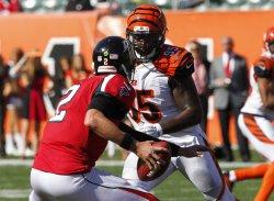 Cincinnati Bengals against the Atlanta Falcons