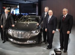 Auto Industry Showcases Their Vehicles at the North American International Auto Show in Detroit, Michigan