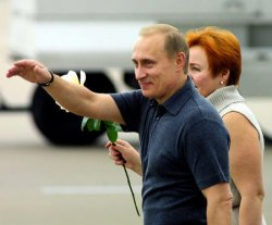 PUTIN ARRIVES IN WACO