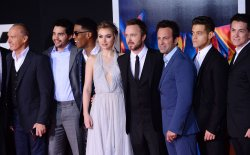 """Need for Speed"" premiere held in Los Angeles"