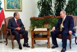 IRAQ PM IN LEBANON