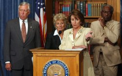 HOUSE DEMOCRATS CALL FOR IMPLEMENTING 9/11 COMMISSION RECOMMENDATIONS