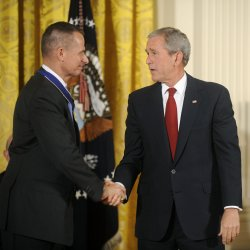 President Bush awards Medal of Freedom in Washington
