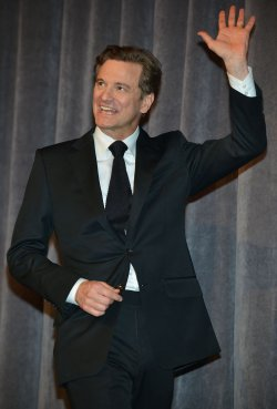 Colin Firth attends 'The Railway Man' premiere at the Toronto International Film Festival