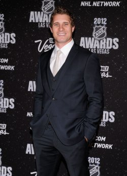 John Michael Liles arrives at the 2012 NHL Awards in Las Vegas