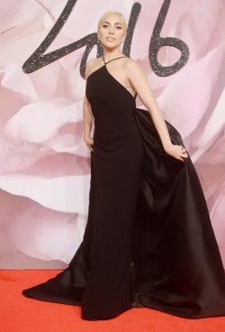 Lady Gaga at The Fashion Awards in London