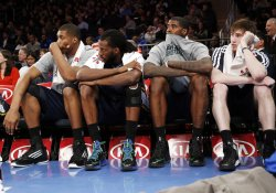 Knicks vs Jazz at Madison Square Garden